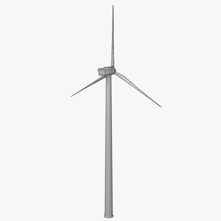 Wind Turbine royalty-free 3d model - Preview no. 10
