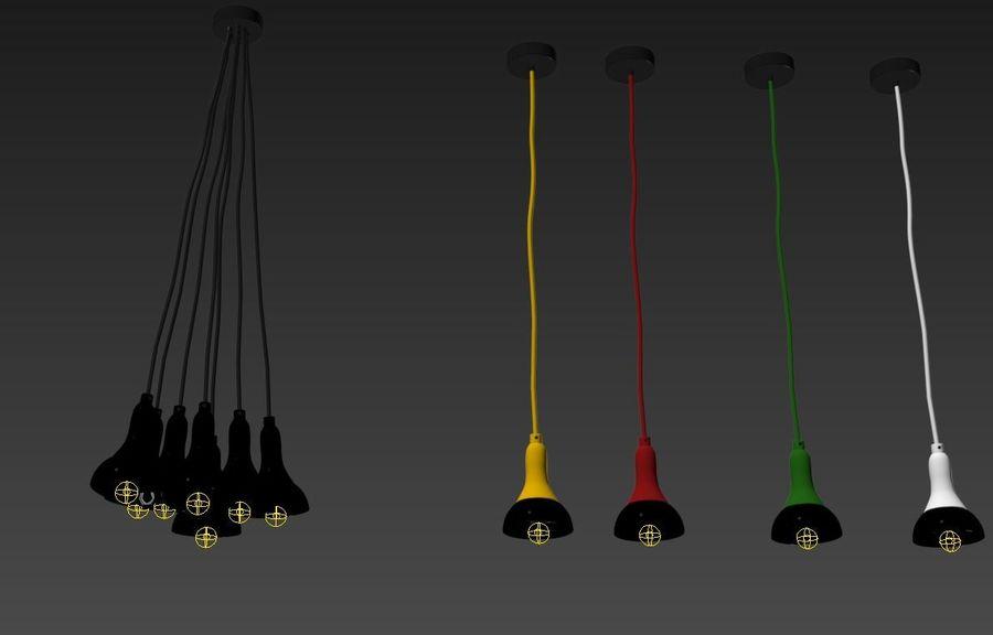 Лампы лампы royalty-free 3d model - Preview no. 3