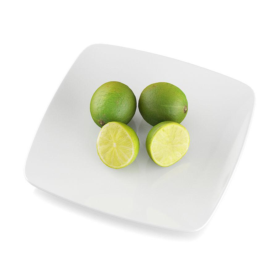 Limoen fruit royalty-free 3d model - Preview no. 5