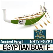 Ancient Egypt Boat F 3d model