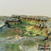 Landscape 64 3d model