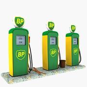 Gas Pump BP 3d model