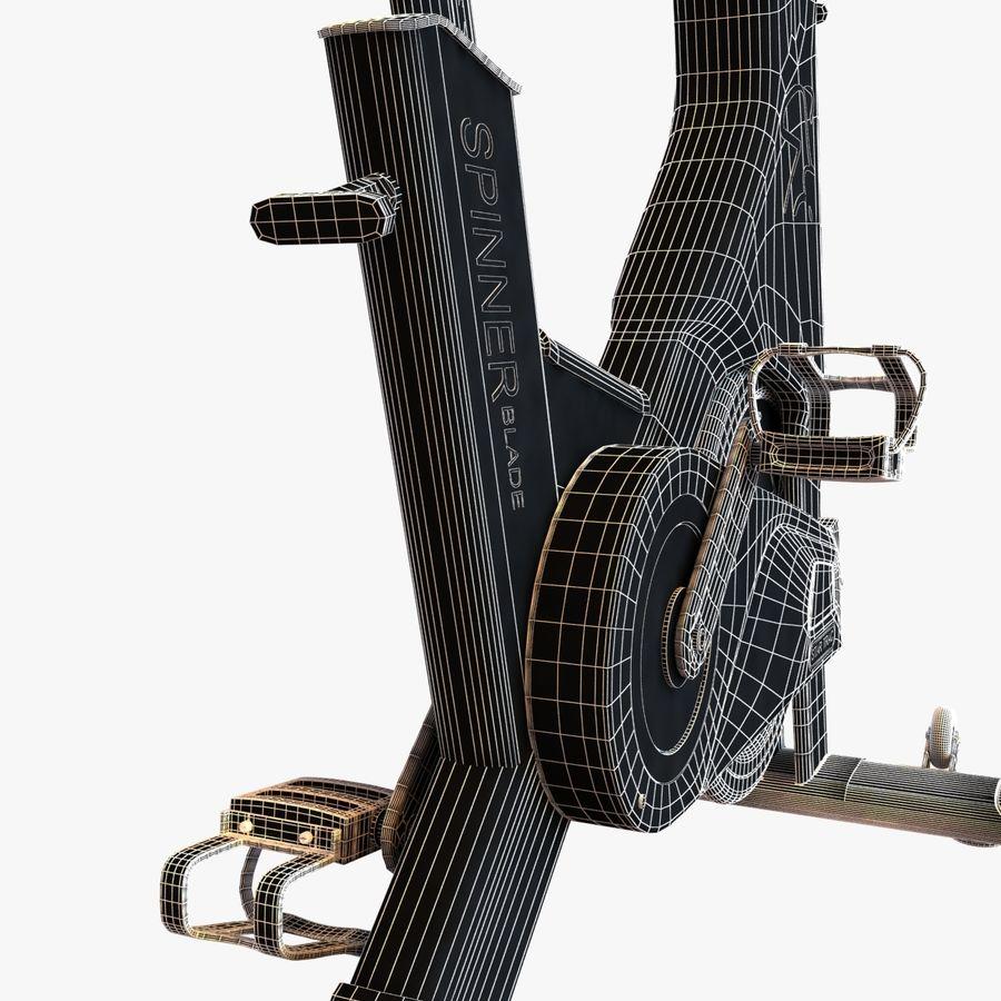 Fitnessstudio stationäres Fahrrad royalty-free 3d model - Preview no. 13