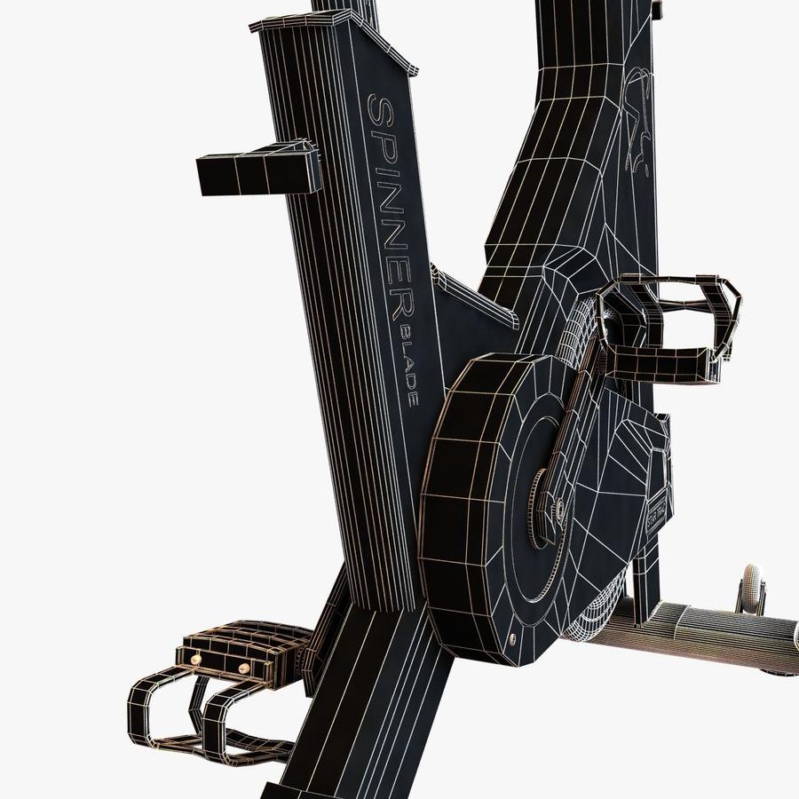 Fitnessstudio stationäres Fahrrad royalty-free 3d model - Preview no. 12