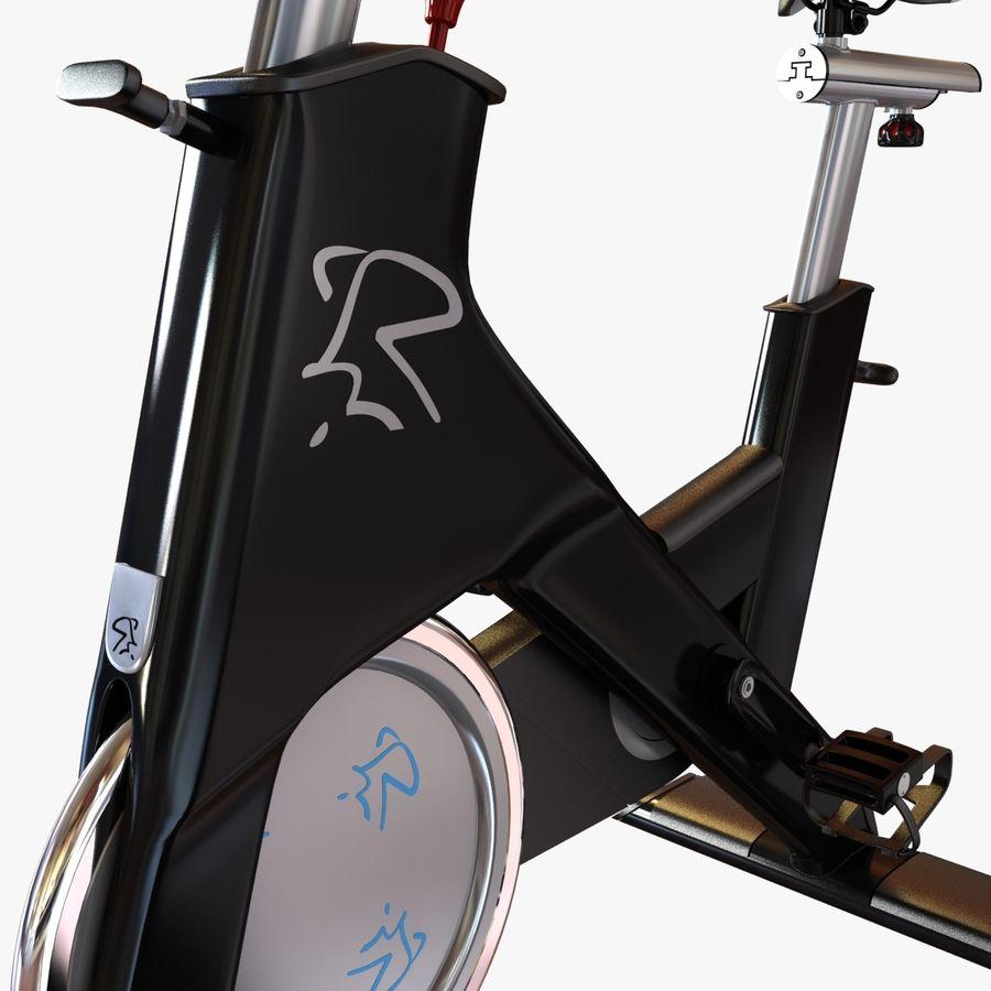 Fitnessstudio stationäres Fahrrad royalty-free 3d model - Preview no. 8