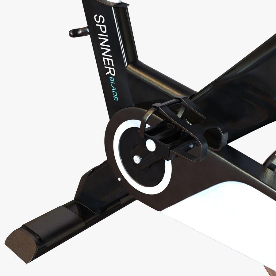Fitnessstudio stationäres Fahrrad royalty-free 3d model - Preview no. 10