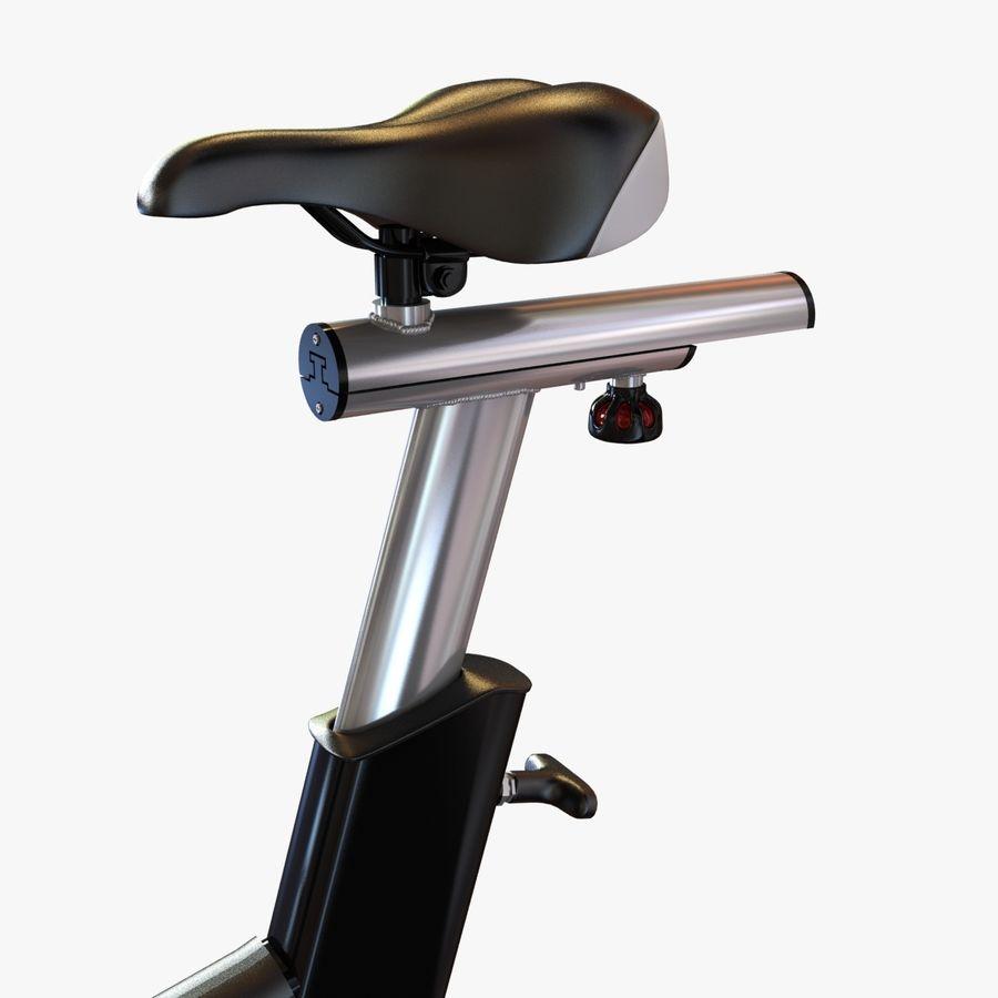 Fitnessstudio stationäres Fahrrad royalty-free 3d model - Preview no. 7
