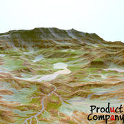Landskap 38 3d model