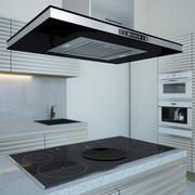 Kitchen Furniture & Appliances 3d model