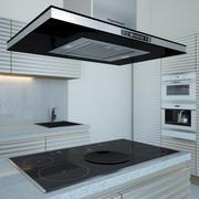 Köksmöbler och apparater 3d model