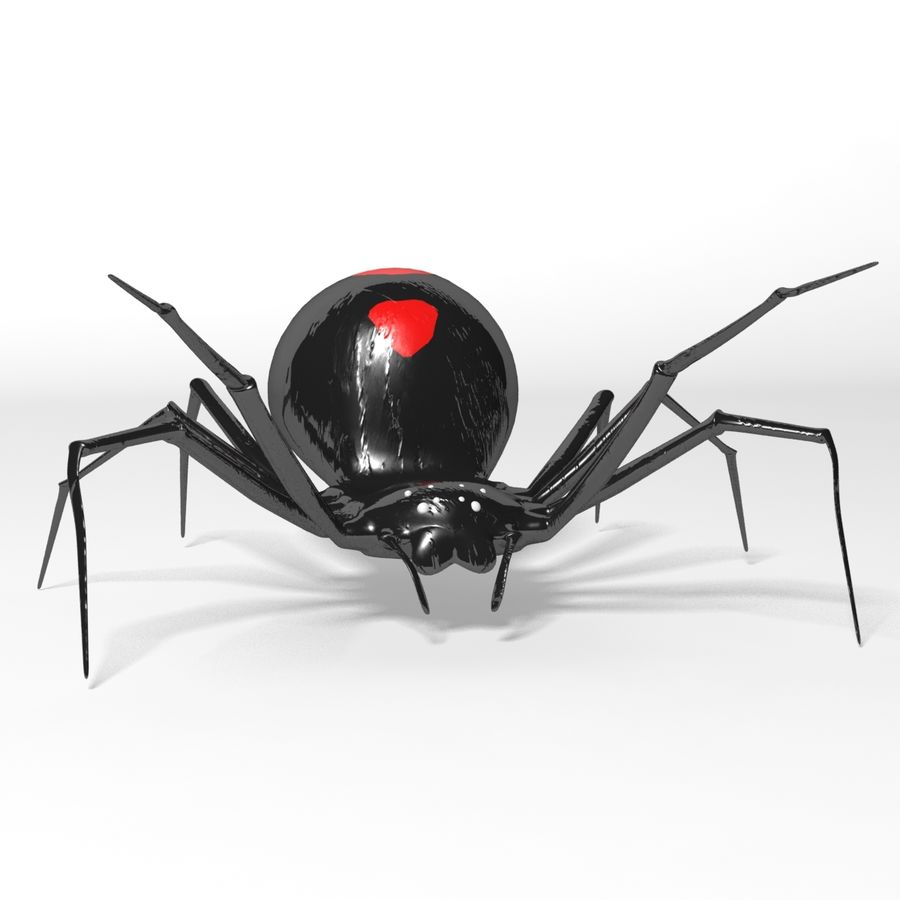 Black Widow royalty-free 3d model - Preview no. 1