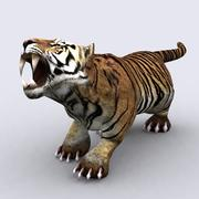 3DRT - Fantasy Animal - Tiger 3d model