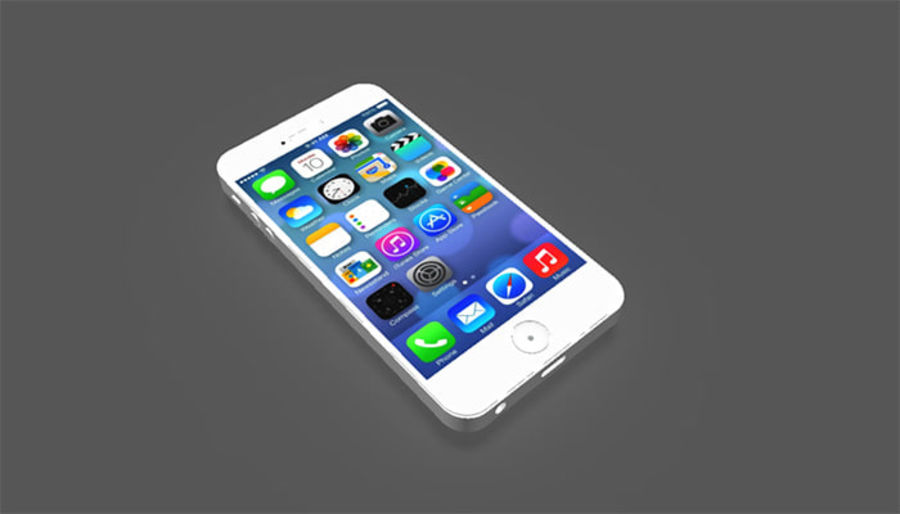 iphone royalty-free 3d model - Preview no. 2