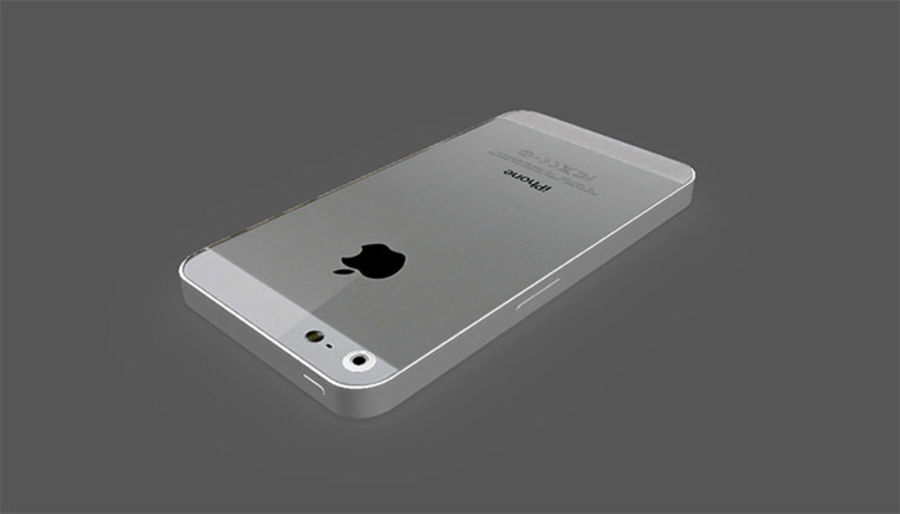iphone royalty-free 3d model - Preview no. 3