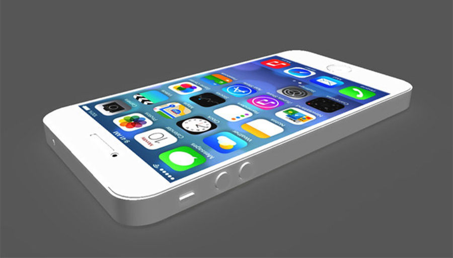 iphone royalty-free 3d model - Preview no. 4
