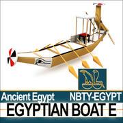 Antiguo Egipto Barco E modelo 3d
