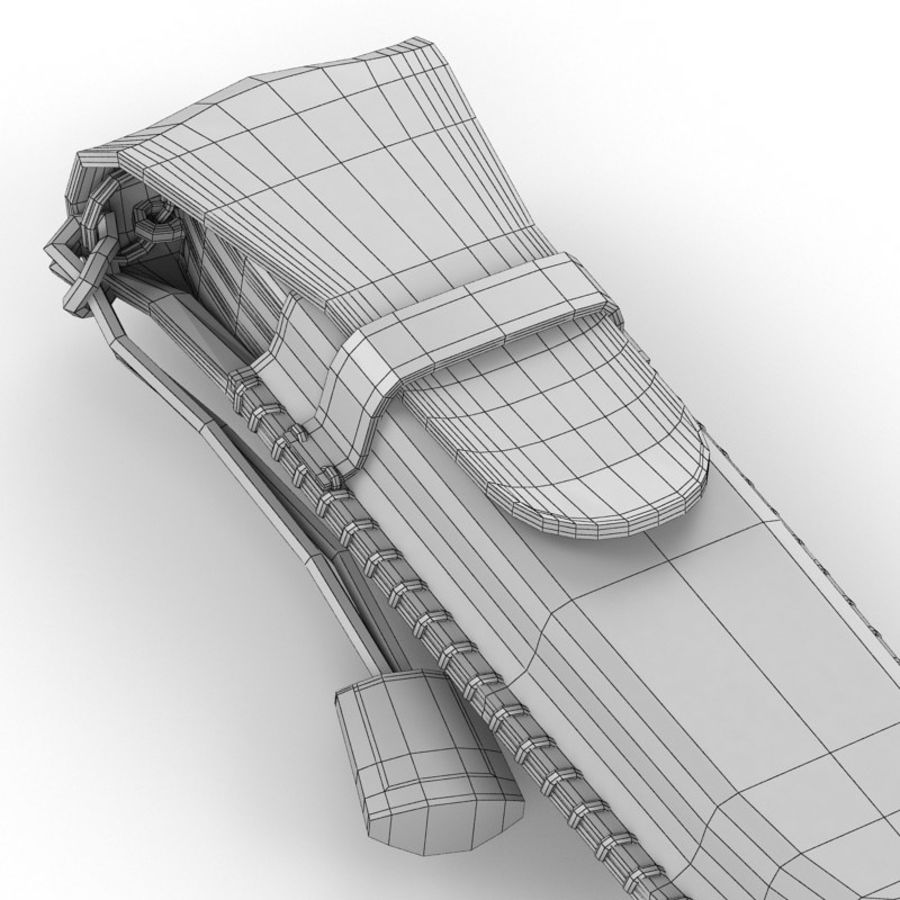 Swiss Army Knife royalty-free 3d model - Preview no. 15