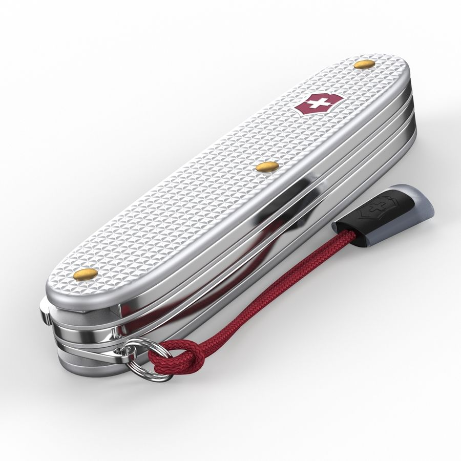 Swiss Army Knife royalty-free 3d model - Preview no. 12