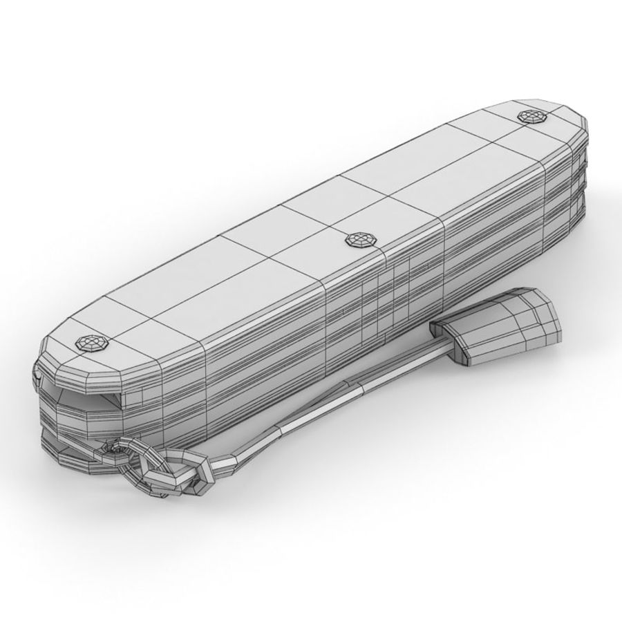 Swiss Army Knife royalty-free 3d model - Preview no. 21