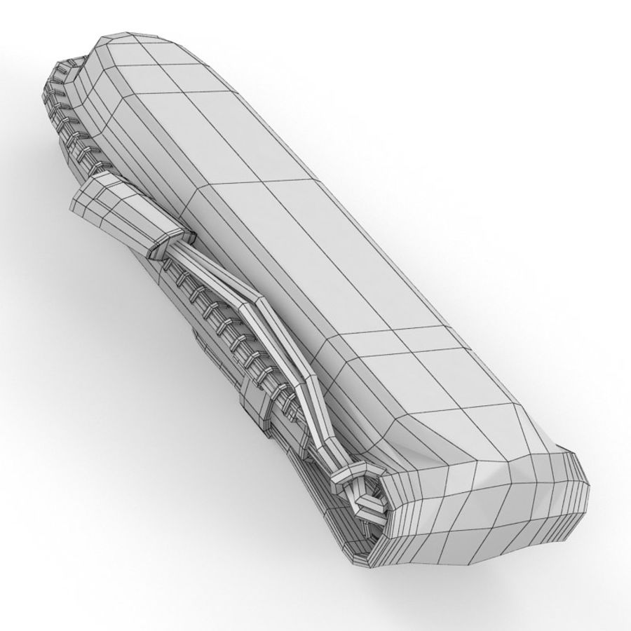 Swiss Army Knife royalty-free 3d model - Preview no. 17