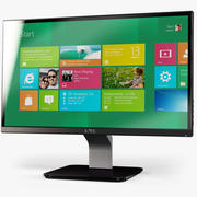 Monitor LED Dell S2340L 3d model