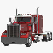 Lastbil Kenworth W900 3d model