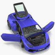 Суперкар 3d model