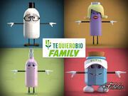 Famille TQB 3d model