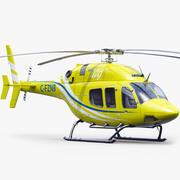 Bell 429 2015 3d model