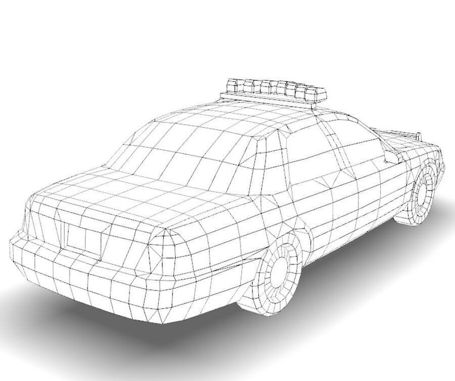 Auto della polizia di New York City royalty-free 3d model - Preview no. 29