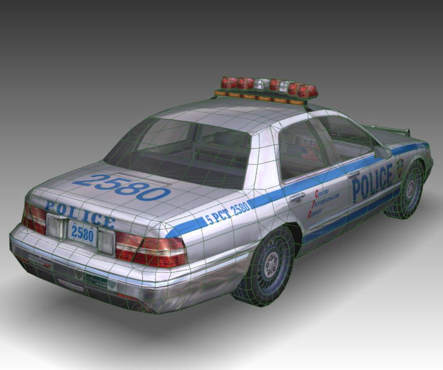 Auto della polizia di New York City royalty-free 3d model - Preview no. 30