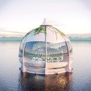 Edificio a cupola 3d model