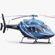 헬리콥터 상업용 3d model
