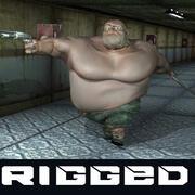 Beto-만화 캐릭터 3d model