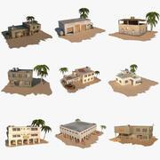 Arab Buildings Ultimate Pack 3d model