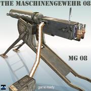 MG 08 Maschinengewehr 08 3d model
