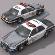 Patrol autostradowy 2 3d model