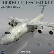 Локхид С-5 Галактика 3d model