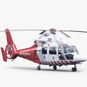 Eurocopter AS 365 N3 Hava Ambulansı 3d model