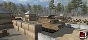 Militaire legerbasis 3d model