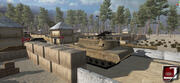軍事基地 3d model
