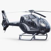 Eurocopter H 120 3d model