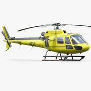 Eurocopter H125 Emergency 3d model