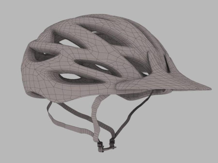 bike helmet 3 royalty-free 3d model - Preview no. 1