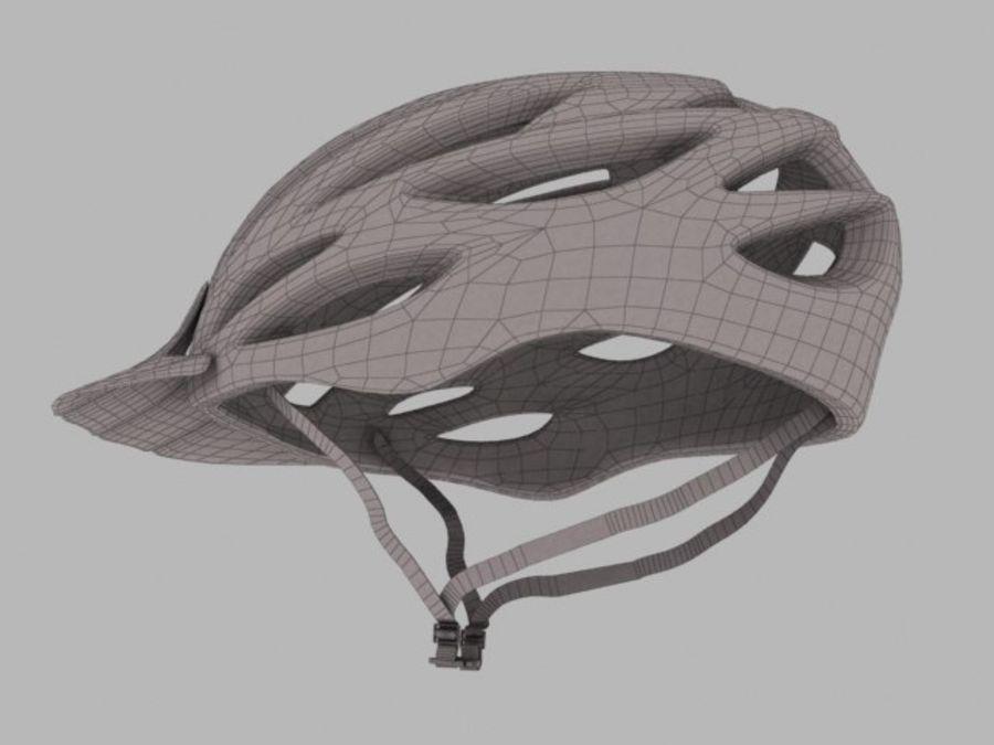 bike helmet 3 royalty-free 3d model - Preview no. 4