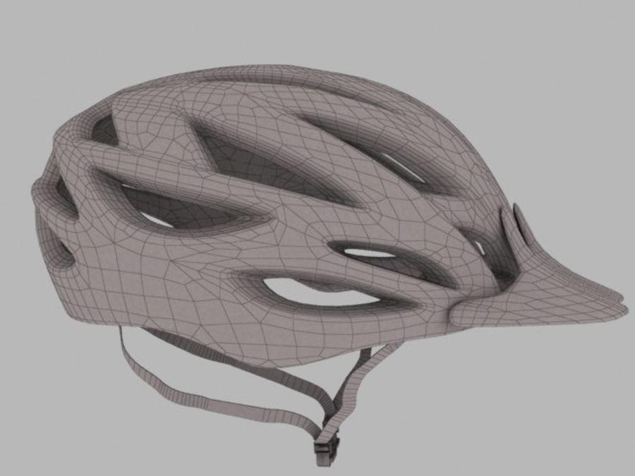 bike helmet 3 royalty-free 3d model - Preview no. 3
