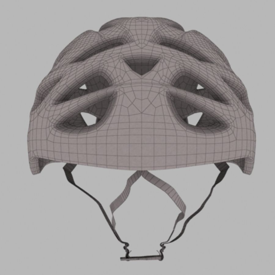 bike helmet 3 royalty-free 3d model - Preview no. 5