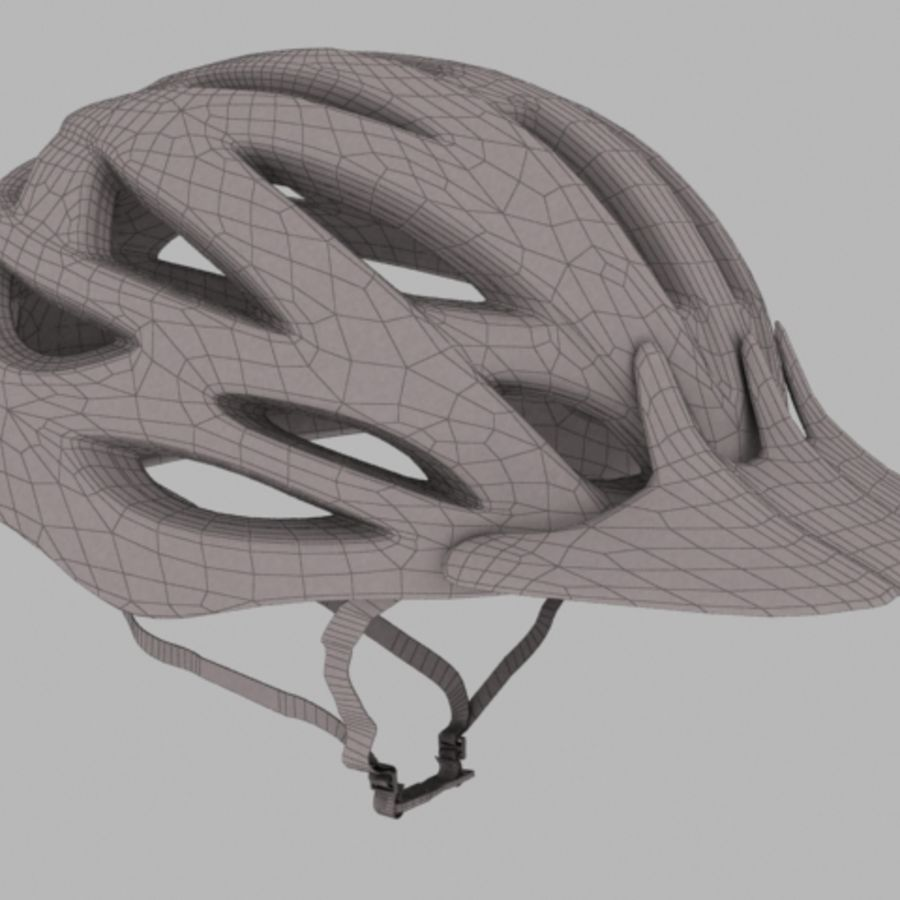 bike helmet 3 royalty-free 3d model - Preview no. 2