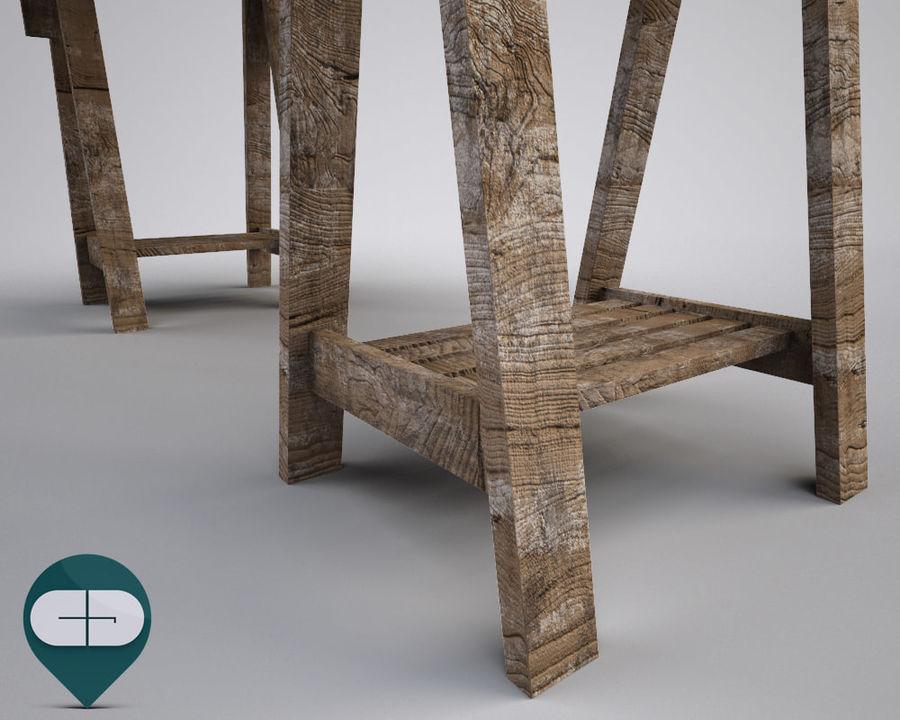 mesa de trabalho royalty-free 3d model - Preview no. 5