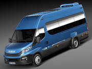Iveco Daily Minibus 2015 3d model